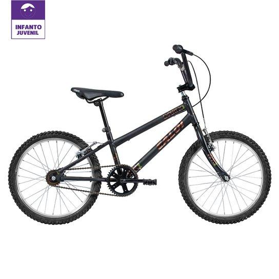 d1aff1ce32 Bicicleta Infantil Aro 20 Caloi Expert - Preto | Netshoes