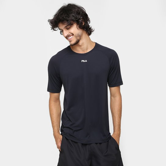 Camiseta Fila Bio Masculina - Grafite - Compre Agora  928dc46a485