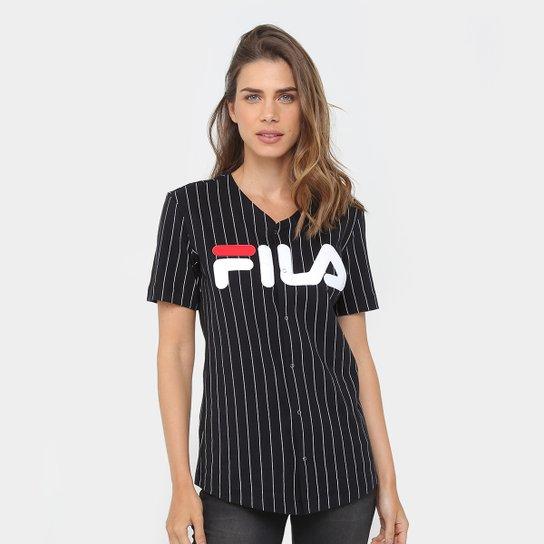 Camiseta Fila Alison Feminina - Compre Agora  5f3b46300b528