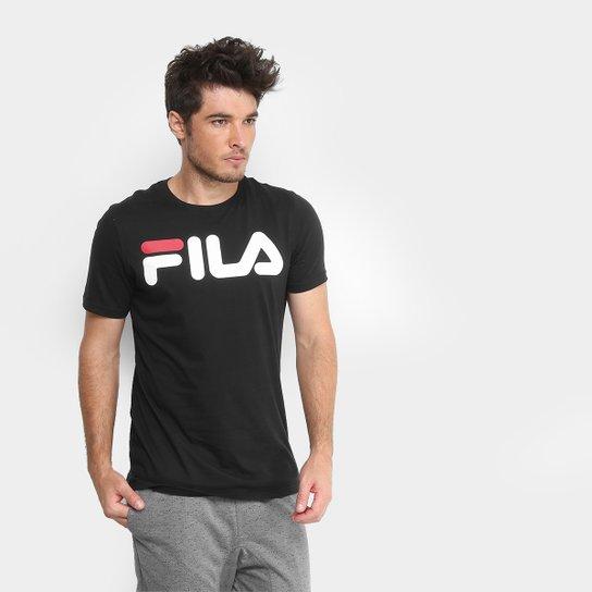 Camiseta Fila Letter Masculina - Compre Agora  bcbb2393167