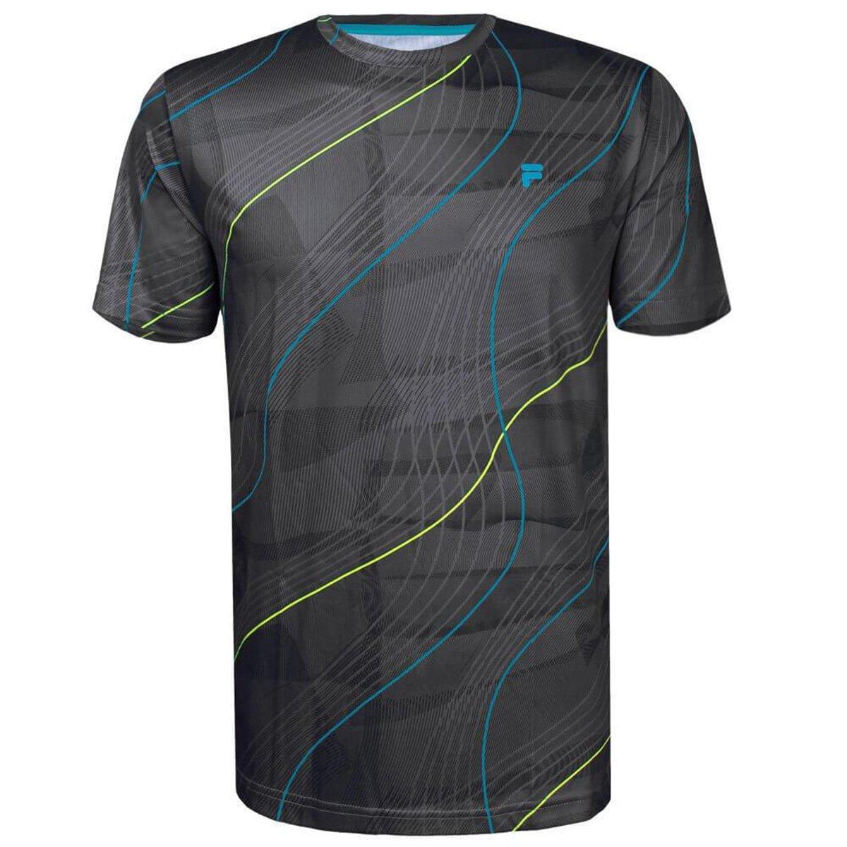 Camiseta Fila Basic Run Print Masculina