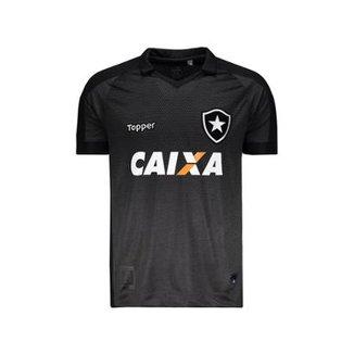abf2b5bd360 Camisa Topper Botafogo Ii 2017 Patrocínio 4200988