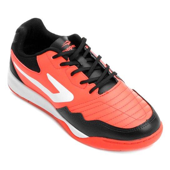 1bd476ce49 Chuteira Futsal Topper Dominator TD - Preto