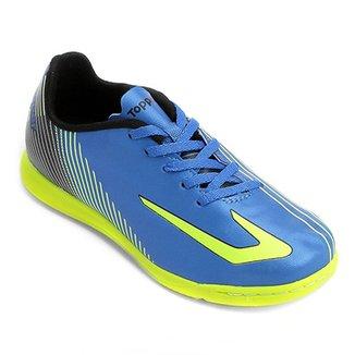4cb0f9b8440 Chuteira Futsal Infantil Topper Ultra