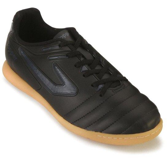 4360cf5da6 Tênis Futsal Topper Boleiro - Preto - Compre Agora