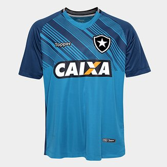 Camisa de Goleiro Botafogo I 2018 s n° Torcedor Masculina b6afa8ed2060b