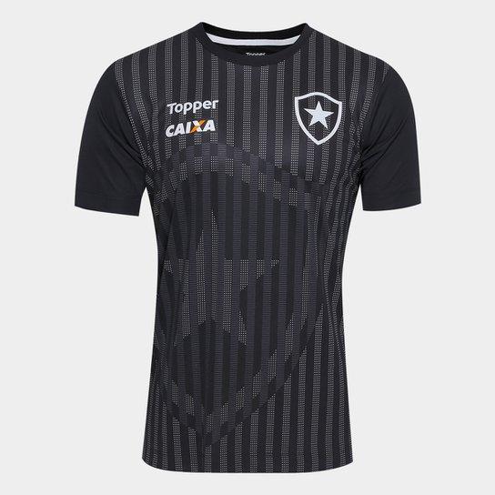 461d50d72e Camisa Botafogo Comissão Técnica Masculina - Preto - Compre Agora ...