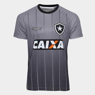 Camisa Botafogo Comissão Técnica Treino Topper Masculina ef1ea2e65bbfa
