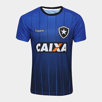Camisa Botafogo Treino Atleta Topper Masculina 0a501d62f2386