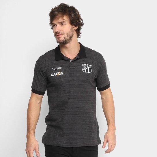 Camisa Polo Ceará Viagem 2018 Topper Masculina - Compre Agora  b80d987c848f4