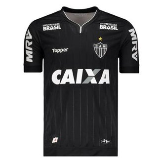 Compre Camisa Topper Atletico Mineiro Bodywear I Preta Online  f265512ccf2dd