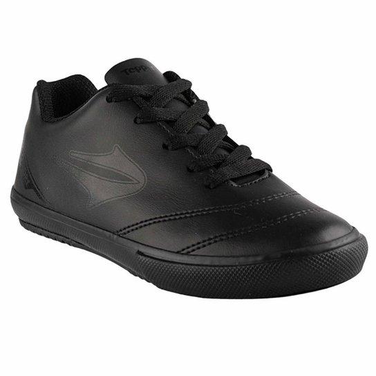 Chuteira Futsal Topper Boleiro Masculina - Preto - Compre Agora ... ff3ba5ed49710