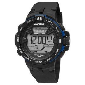 c2387386115 Relógio Masculino Everlast Pulseira Couro E246 Analógico - Preto ...