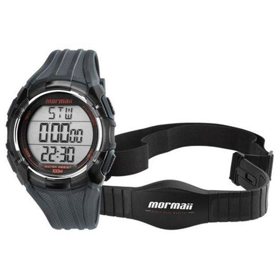 efa9729168c57 Relógio Mormaii Monitor Cardiaco Digital - Preto - Compre Agora ...