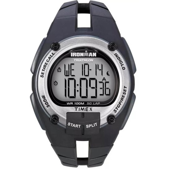 0e1931837e2c Relógio Timex IronMan Masculino T5K155WKL 8N - Compre Agora