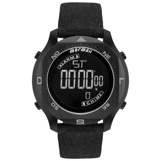66e6556eb4d62 Relógio Mormaii Masculino Acqua Pro - MO11273D 2P MO11273D 2P - Preto