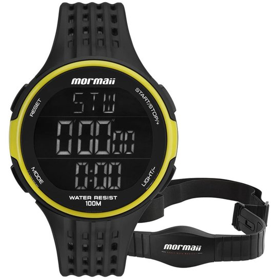 3f048701b4 Relógio Mormaii Unissex Performance - MO11559AA 8V MO11559AA 8V - Preto