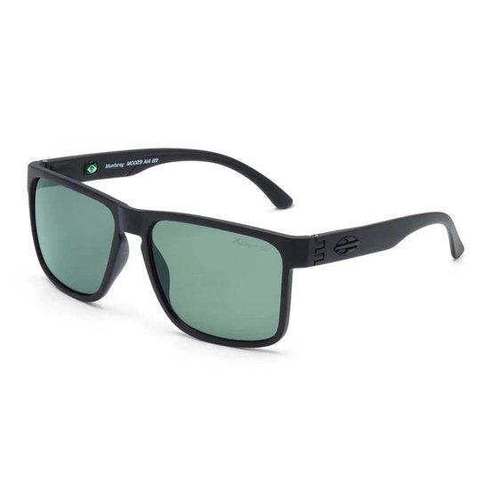 Óculos de Sol Mormaii Monterey Polarizado Fosco Masculino - Preto ... 1fdb3d8bb1
