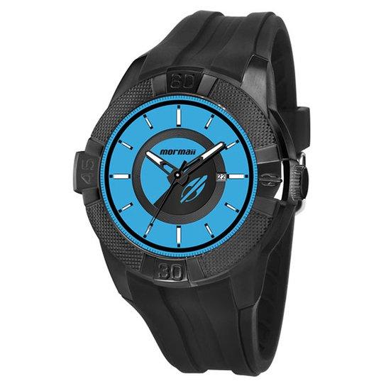a775bc6a9 Relógio Mormaii Unissex Analógico Com Data - MO2315AP/8Z - Preto ...