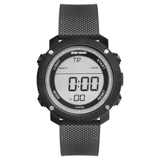 5401408c7 Relógio Mormaii Wave Masculino - Preto | Netshoes