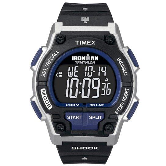 97b19dc5543f7 Relógio Timex Ironman Shock 30-Lap TI5K332 N TI5K332 N - Compre ...