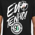 e30a7d84e4 Camiseta Vasco São Januário Eu Tenho 90 Anos Masculina - Preto ...