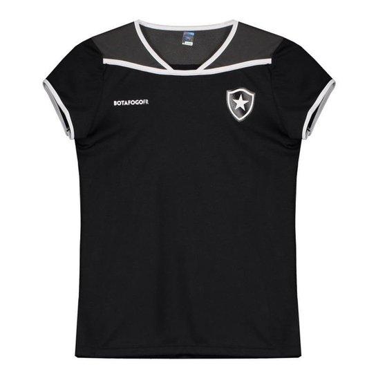 Camisa Botafogo UP Feminina - Preto - Compre Agora  b35b1814f06bf
