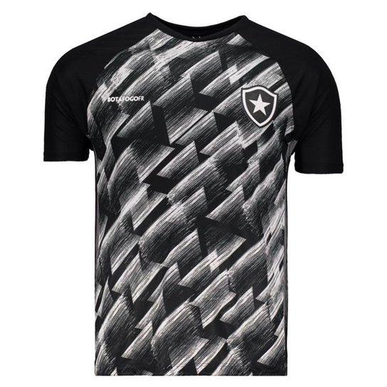 Camisa Botafogo Upper Masculina - Preto - Compre Agora  fe91d6d239589
