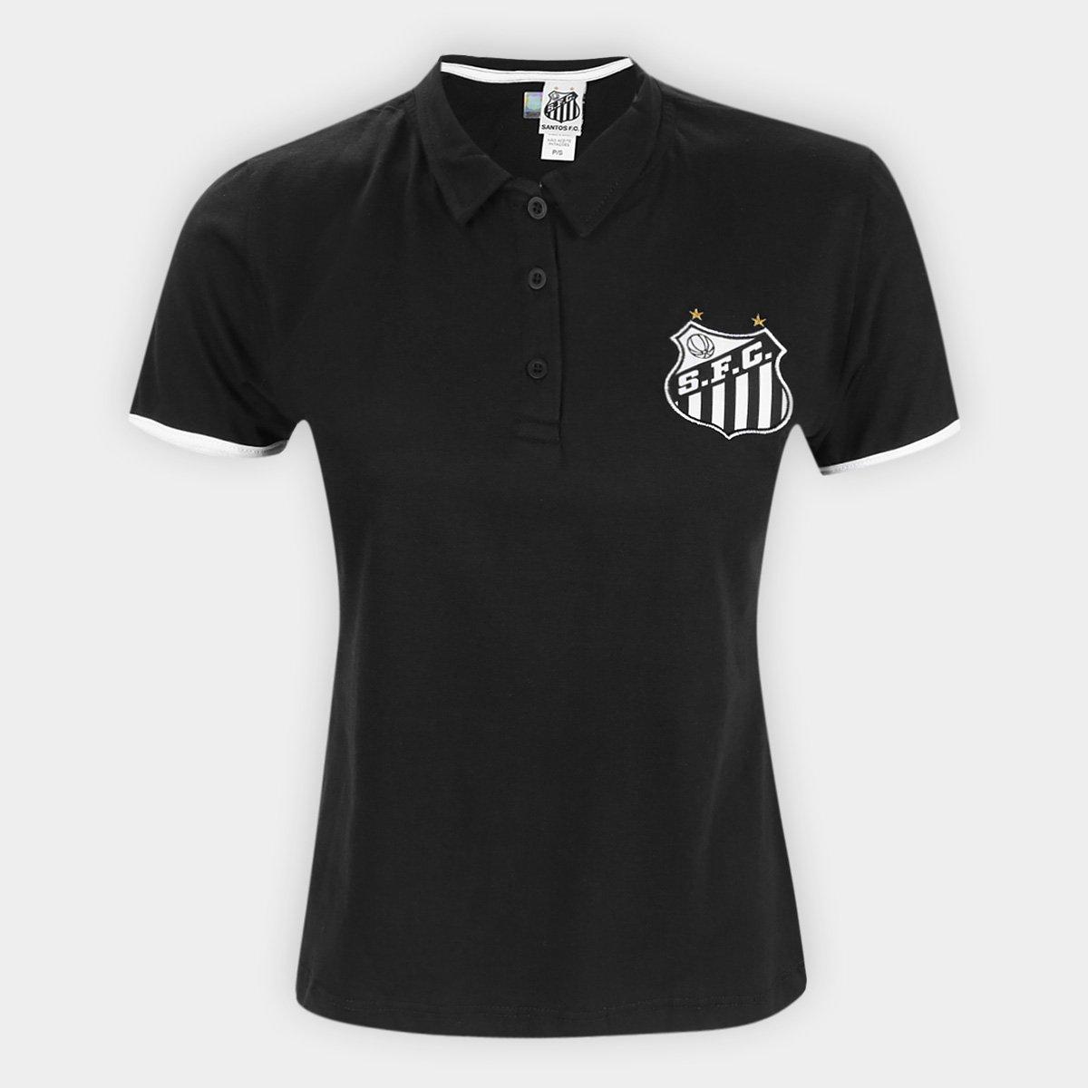 Camisa Polo Santos Mall Feminina