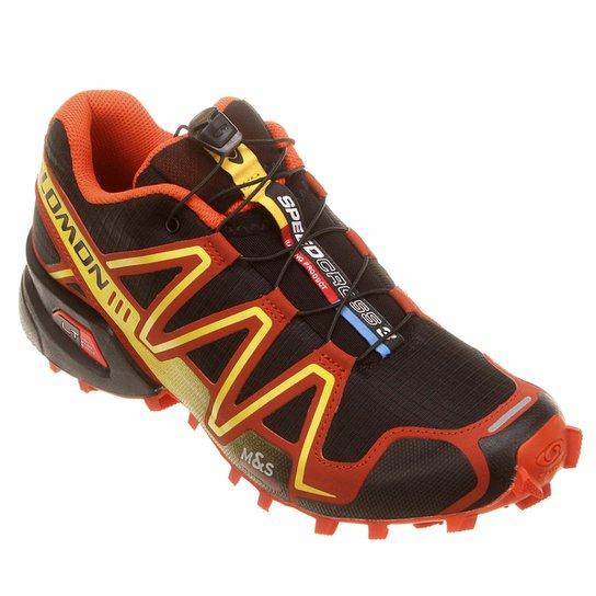 352cd57a67d24 Tênis Salomon Speedcross 3 - Preto+Vermelho