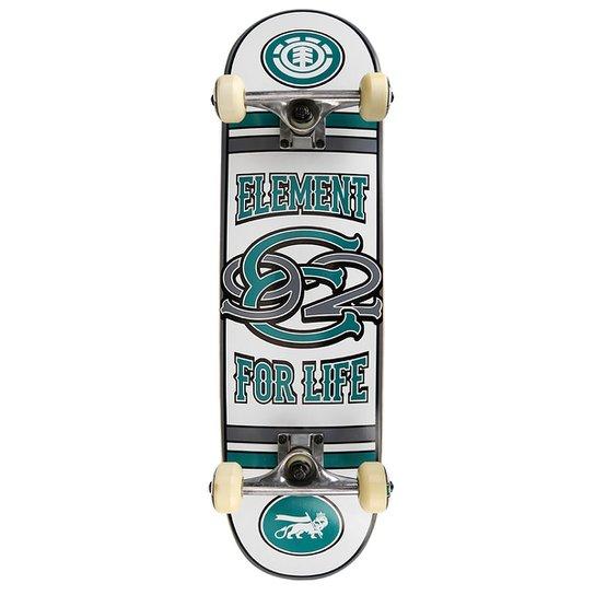 bb473e288bf7 Skate Element Linked 7.6 - Branco+Verde Água