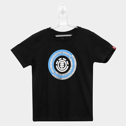 Camiseta Infantil Element Iris Manga Curta Masculina
