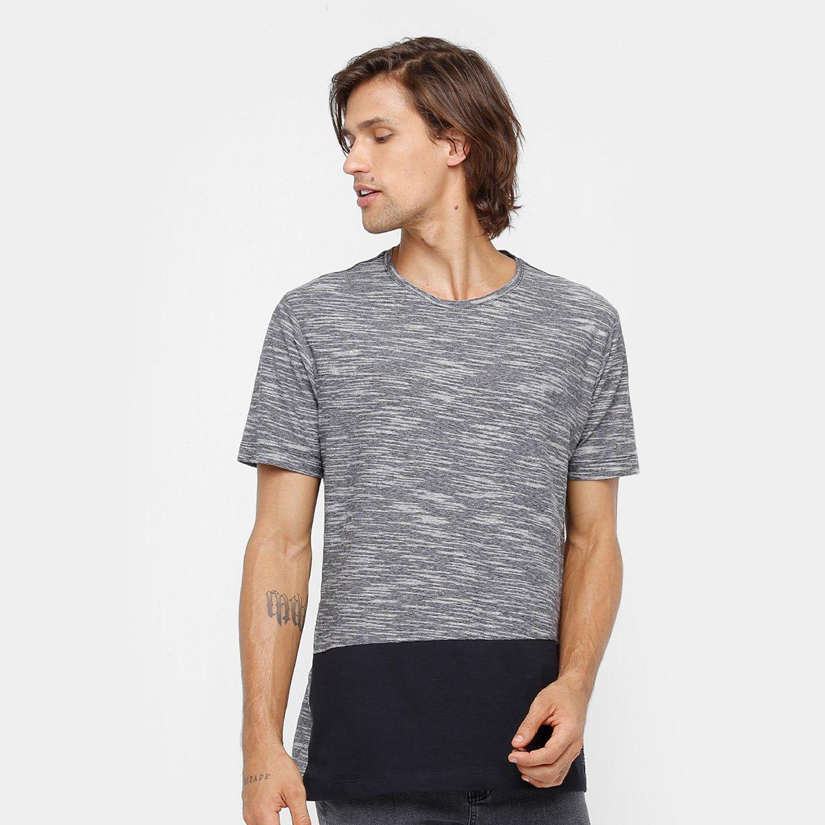 e66d0348f Camiseta Longline Globe Especial Panel Masculina