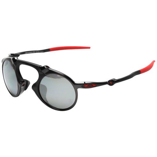 859370a8d Óculos Oakley Ferrari Madman Dark Carbon - Iridium Polarizado | Netshoes