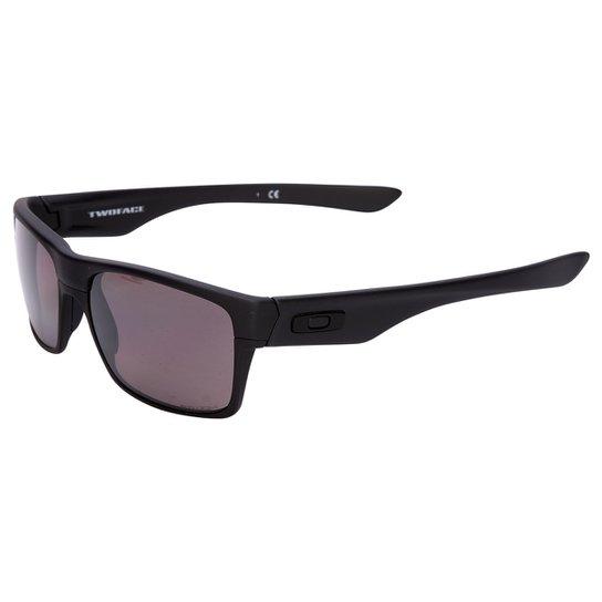 5800bc3a9836f Óculos Oakley Two Face Covert Matte - Prizm Daily Polarizado - Preto