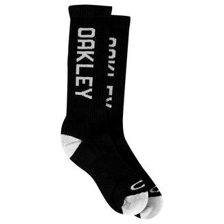 Meia Oakley Cano Alto Mod Brand Sock Masculino c24f5b09bd2