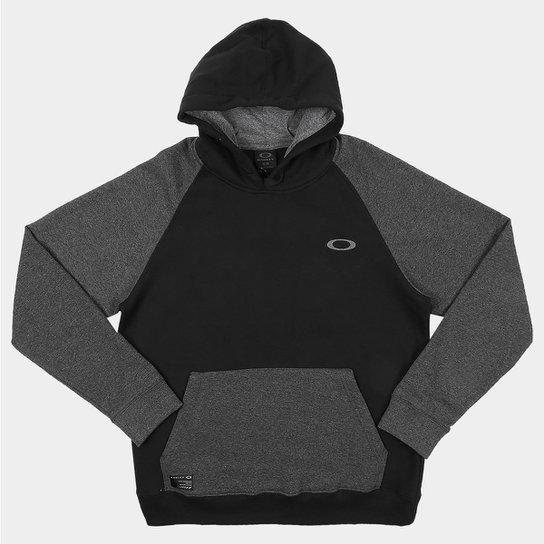 Moletom Oakley Mod Essential Blocked Capuz Masculino - Compre Agora ... 27e7c4be718
