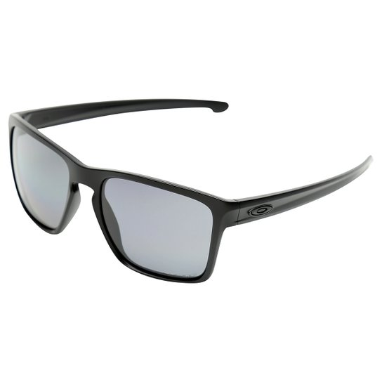 c52c56c45b3c1 Óculos de Sol Oakley Sliver Xl-Polarized Masculino - Preto - Compre ...