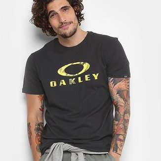 Camisetas Oakley Print Logo Tee Masculina 78f35b7fa89