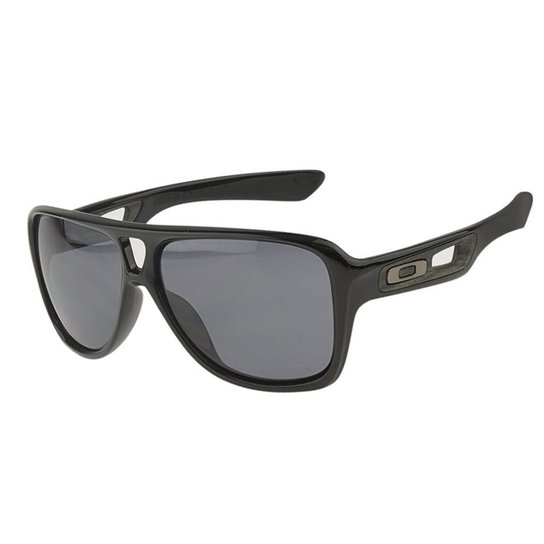 7ce076683eee3 Óculos Oakley Dispatch II Polished Black   Grey - Compre Agora ...