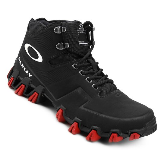 Tênis Oakley Turlock Mid Masculino - Preto - Compre Agora   Netshoes 1d52858739