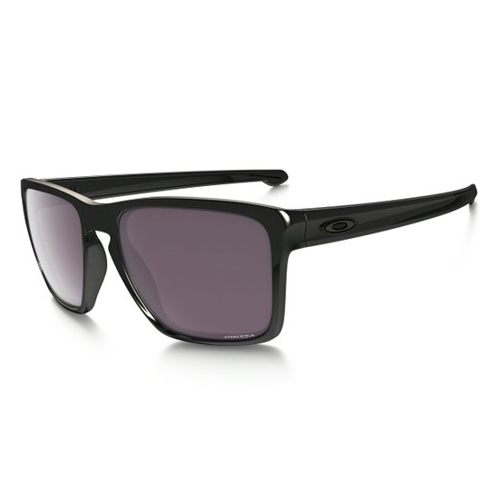 7210015777ab4 Óculos Oakley Sliver XL Polished Black   Prizm Daily Polarized - Preto