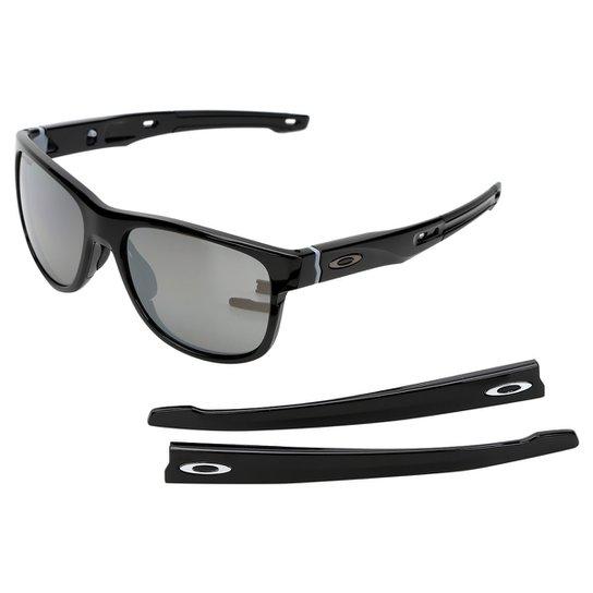 Óculos de Sol de Sol Oakley Crossrange R Masculino - Preto - Compre ... cdd3a11dc8