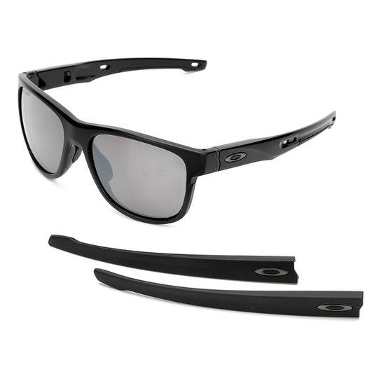 Óculos de Sol Oakley Crossrange R Masculino - Preto - Compre Agora ... b0ac2542fe