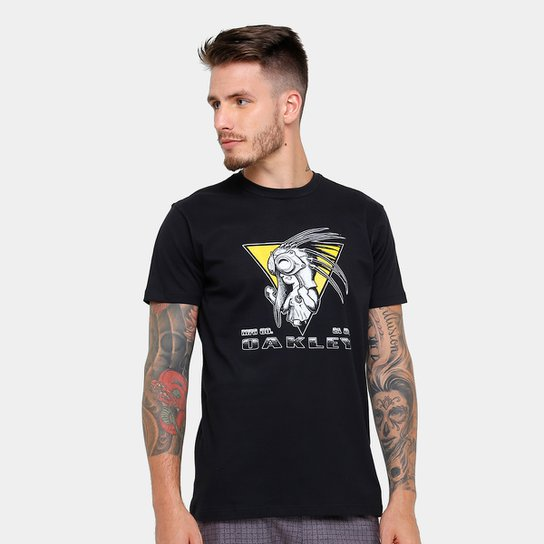 cb43b45aa5 Camiseta Oakley Mod Iconic Tee Masculina - Compre Agora