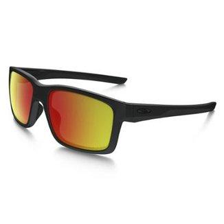 Óculos Oakley Matte Black W Ruby Iridium Polarized 6501a29a4a