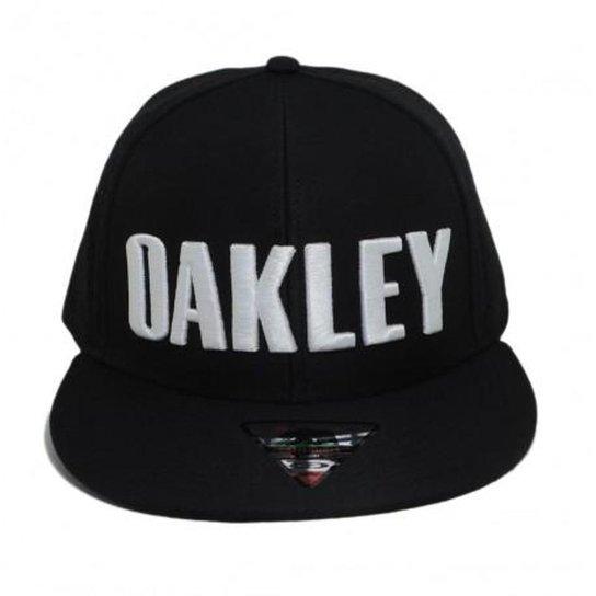 Boné Oakley Octane - Preto - Compre Agora  69a5b26bf5b8a