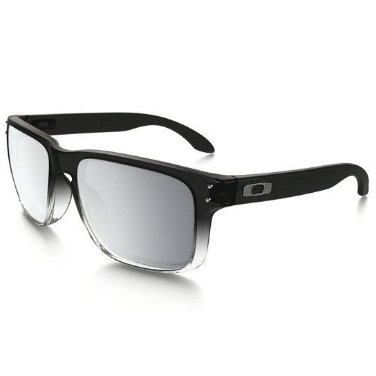 29db258c859ac Óculos Oakley Holbrook Dark Ink Fade Chrome Iridium Polarized - Preto
