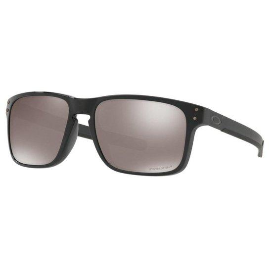 4f4f9dd3338a8 Óculos Oakley Holbrook Mix Polished Black Prizm P - Compre Agora ...
