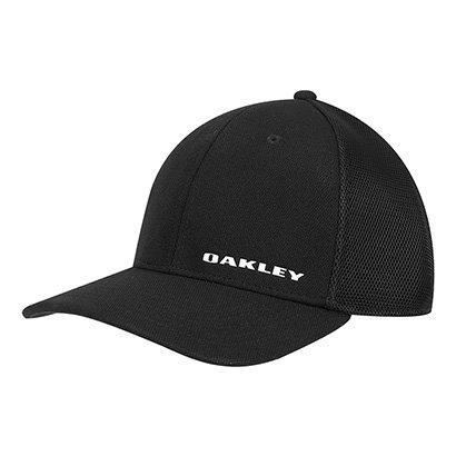 Boné Oakley Aba Curva Silicon Bark Trucker 4.0 Masculino